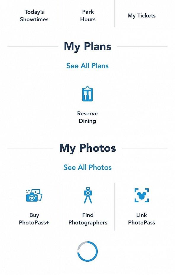 アプリの「Link Photopass」を押してフォトパスを登録します♪