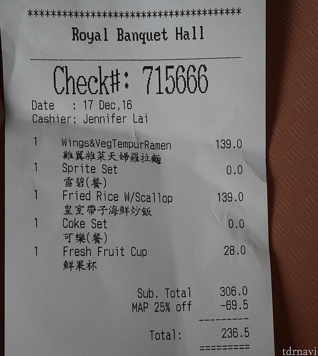 年パスでパーク、ホテルのレストランは25%オフ!※除外日や利用できない店もあります。