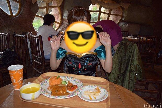私は大食いアナ