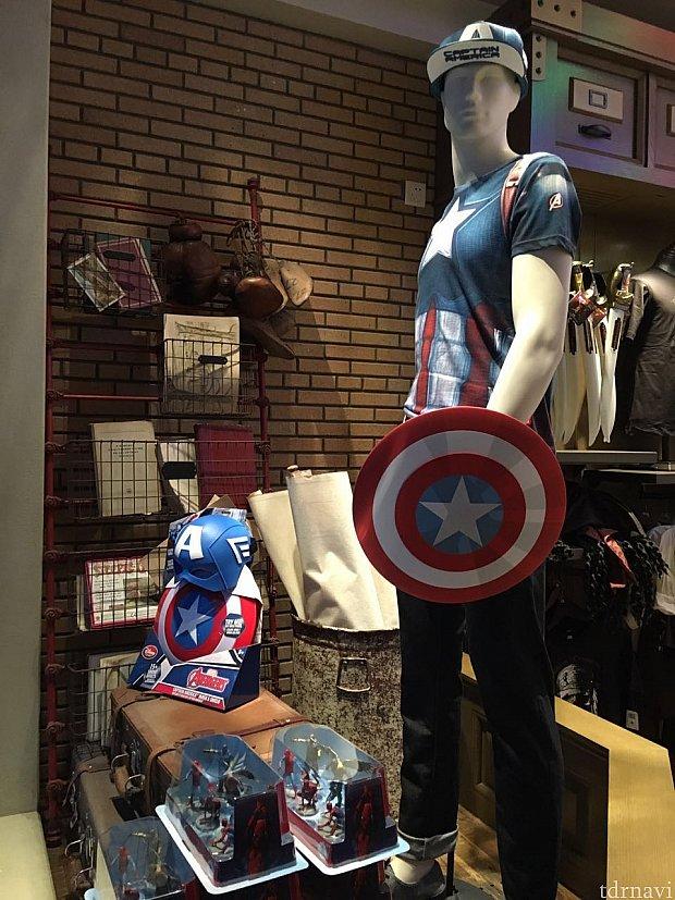 キャプテンアメリカ。
