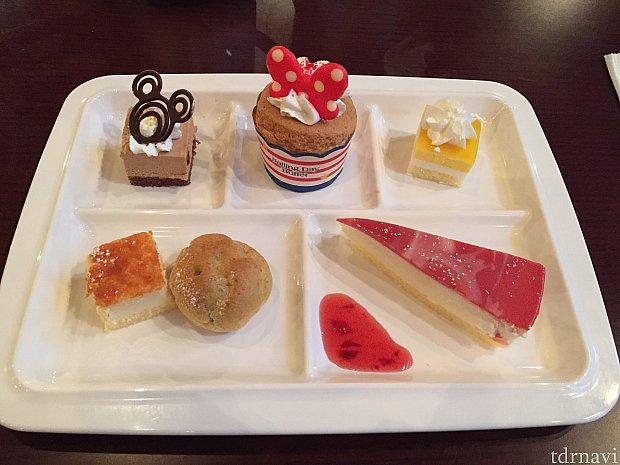 デザートも種類が豊富でひとつひとつが美味しいです!
