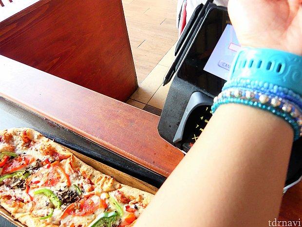 もちろんボルケーノ・ベイ内のレストランやタオルレンタルの支払いなどに使うことができます♪とっても便利でした!