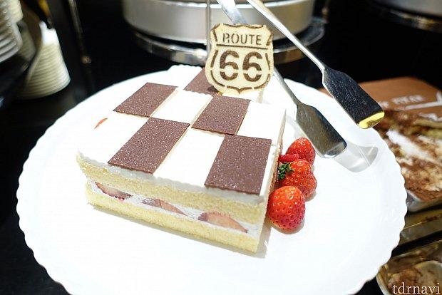 カーズのショートケーキ