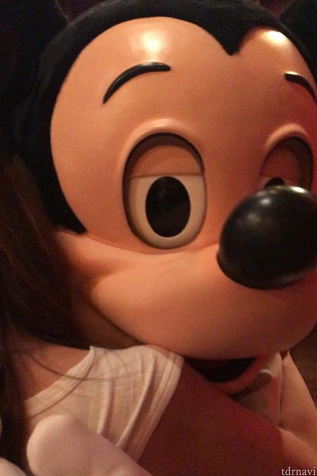 ハグの時のこの顔がかわいい(*^^*)