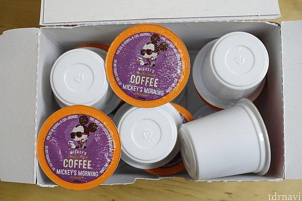 1パック用を開封した様子。どうやら専用のコーヒーマシンがないとドリップできないようです。