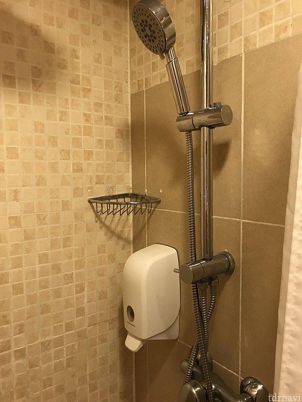 シャワーです。 水圧良かったです❗️