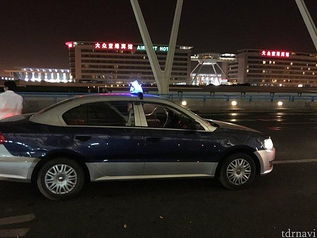 """大手では無い""""旗忠タクシー""""でしたがルート、態度、運転、全て問題ありませんでした👌"""