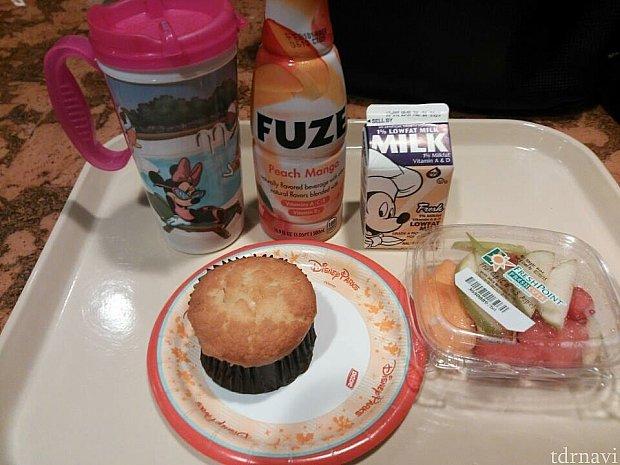 ダイニングプランでスナック1回を朝食で利用しました♫