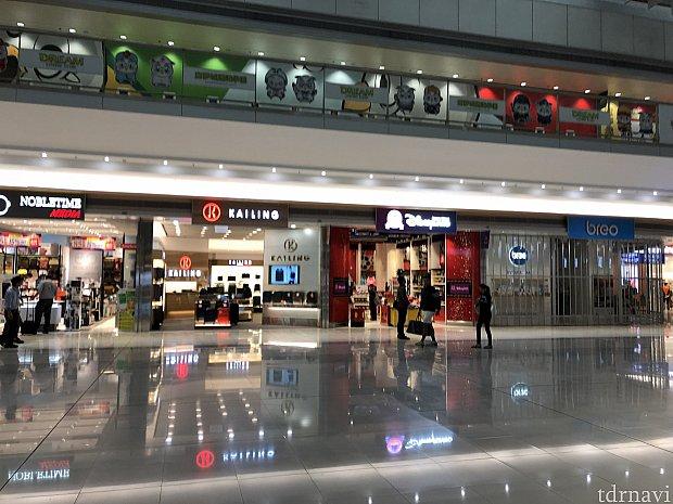ターミナル2が近いので買い物に便利です!