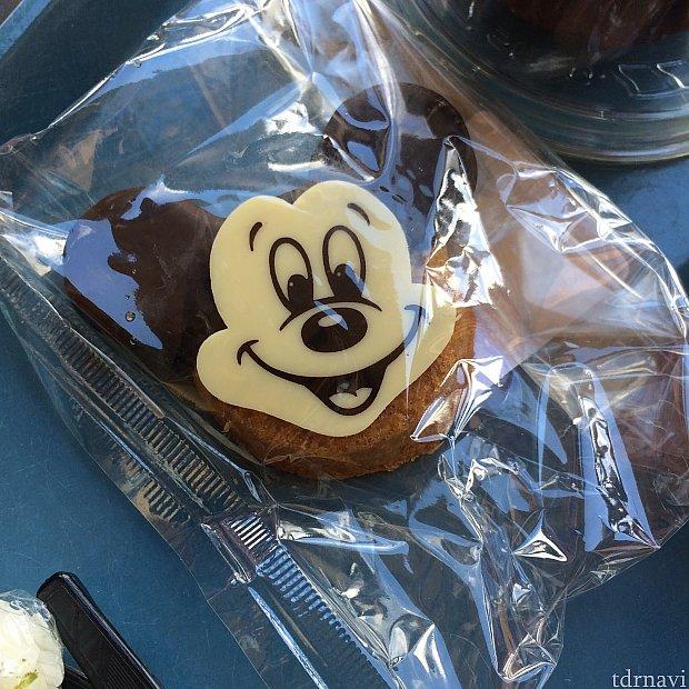 チョコブラウニークルミ入り。とにかく甘い