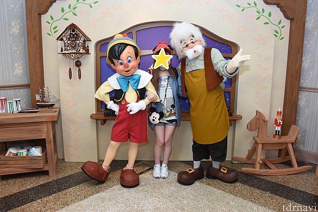 ピノキオ&ゼペット♪