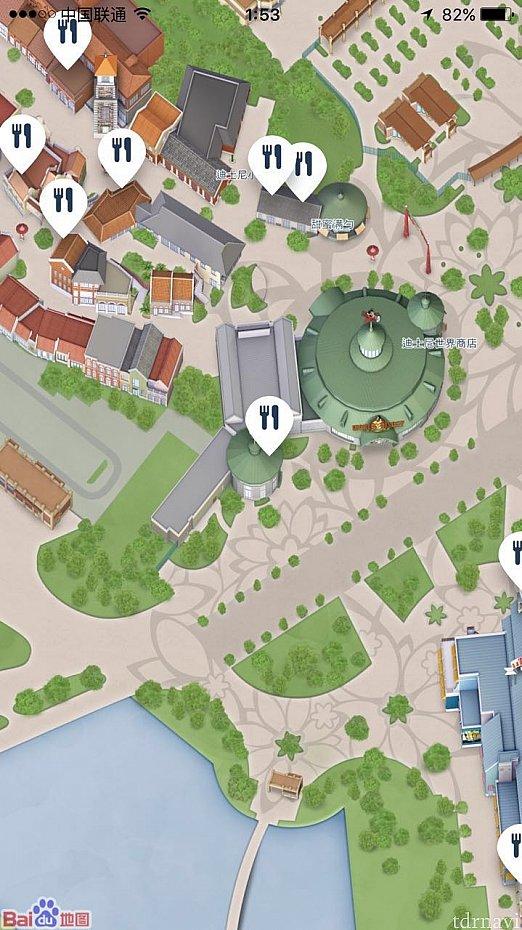 場所は地図の真ん中のマークのところです。