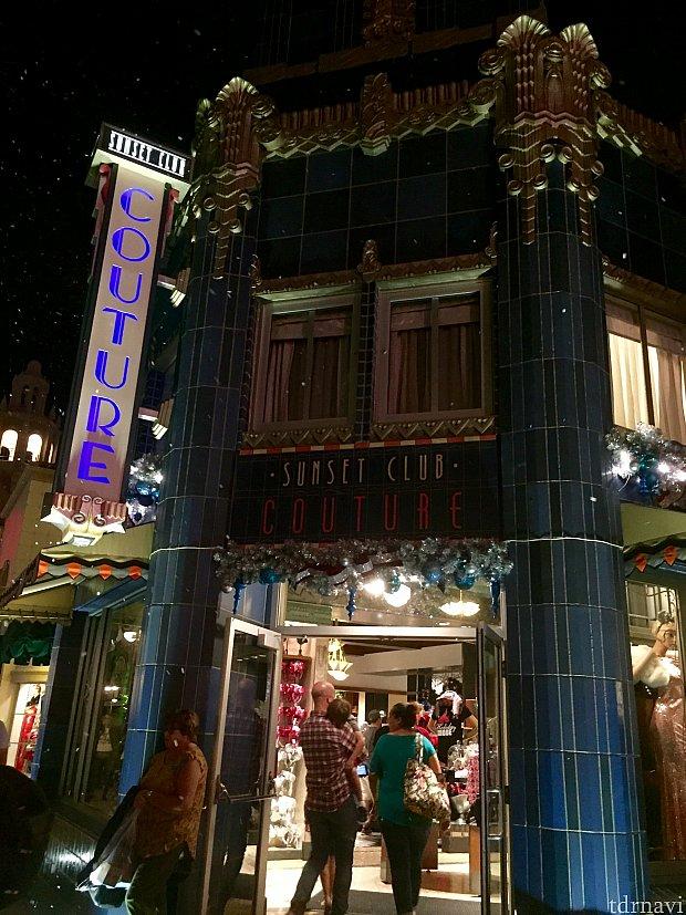 今回僕がレポートしたのが、ハリウッドスタジオのサンセットブルバード沿いの「ワンスアポンナタイム」です。