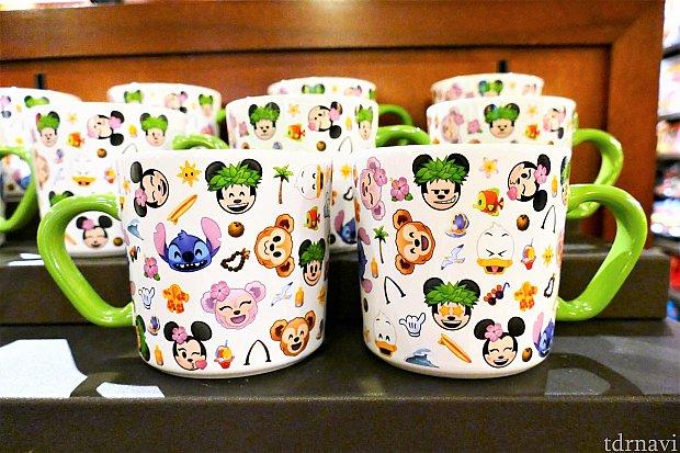 海外ディズニーで人気(?)のemojiシリーズのマグカップ 15ドル