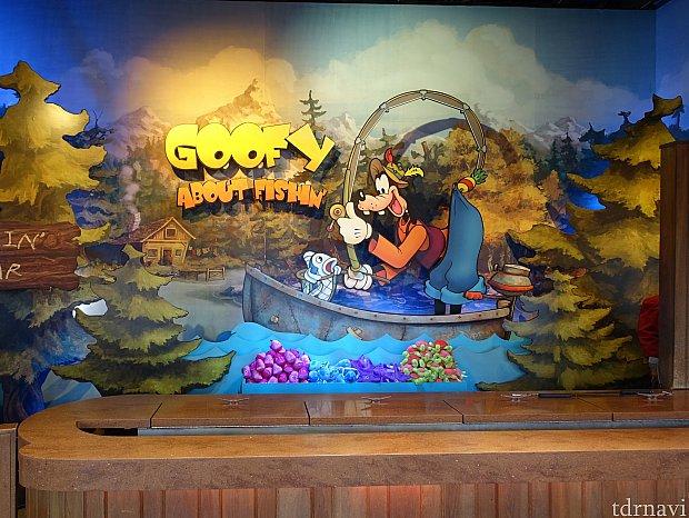 【リニューアル前】 グーフィーの釣りゲームは『月と少年』になりました。