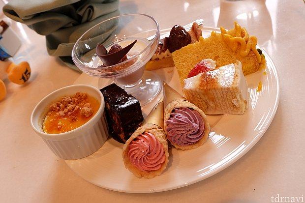 盛り皿その3:デザート!カボチャのブリュレがおすすめ♡