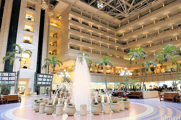 ホテルの建物の外観