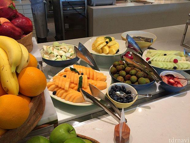 新鮮なフルーツ。