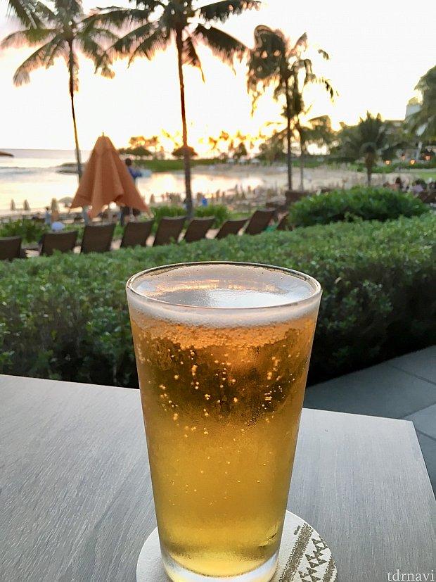 ビールもより美味しそうに映る