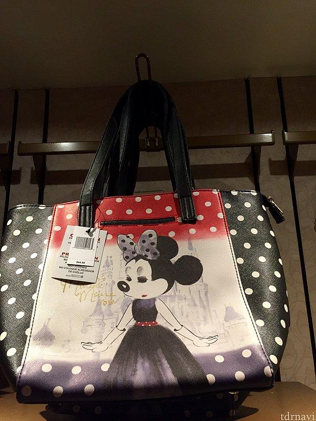 こちらのバッグは$44.99。