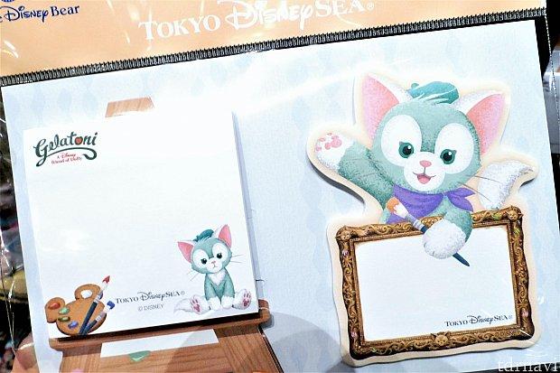 ふせんセット(700円) ジェラトーニらしい、キャンバスとフレーム型のふせん。