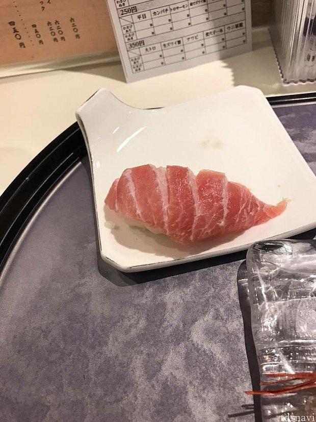 350円の大トロが美味しいです!