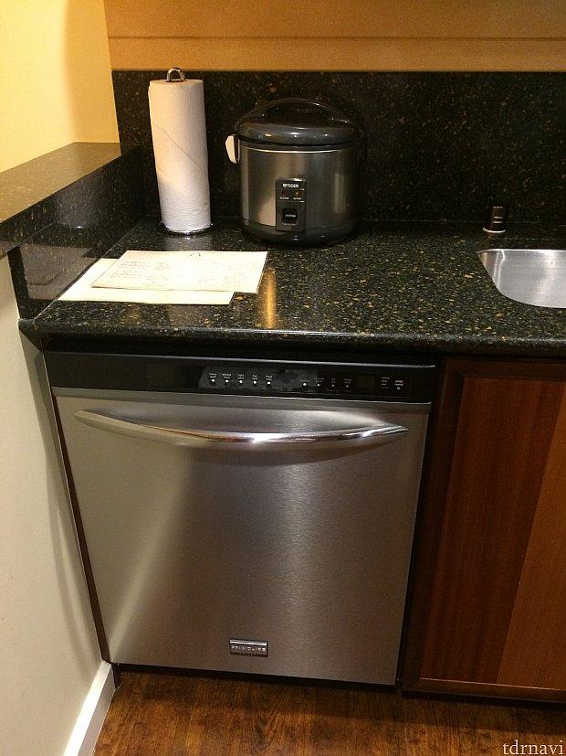 食洗機!に炊飯器!
