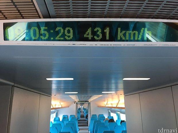 最高速431km/h‼️