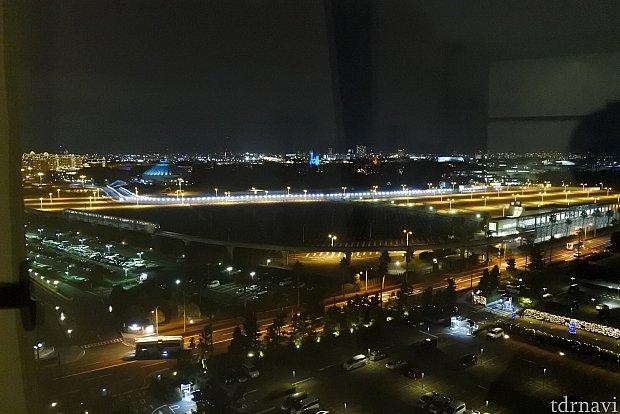 11階のパーク側からの夜景
