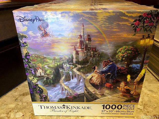 もう一つはお城がメインのデザイン。こちらも1000ピース。$19.95