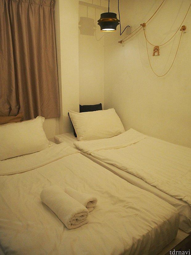 部屋は綺麗