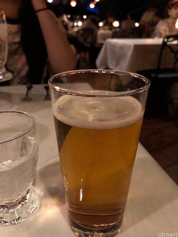 まずはノンアルコールビールで乾杯🍻