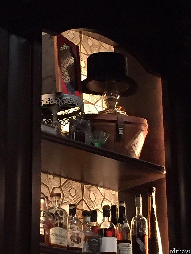 LASDOWが愛用していたマジックの品々が展示されています。