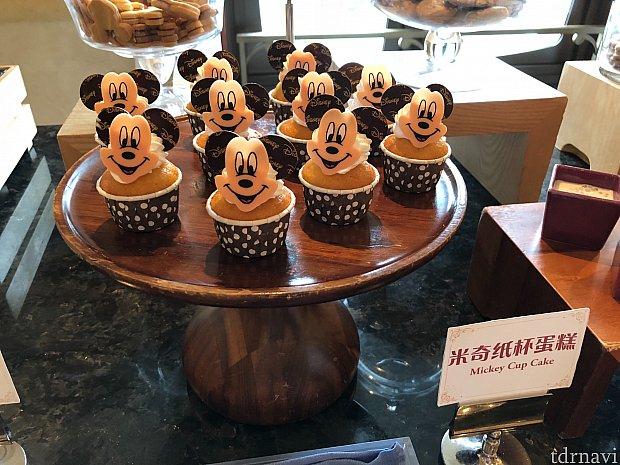 ミッキーのデザートが可愛かったです。