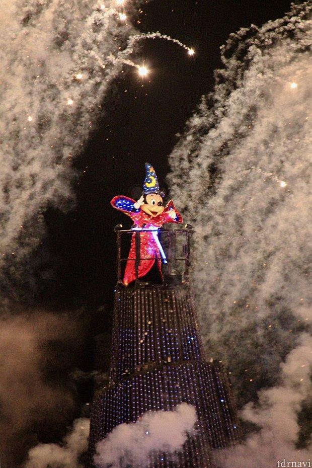 ミッキーの魔法の始まり♪イマジネーション!!