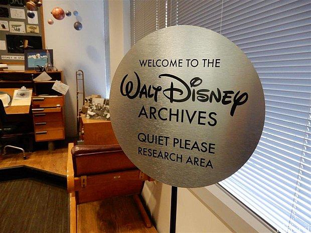 ディズニースタジオ内のウォルトディズニー・アーカイヴス