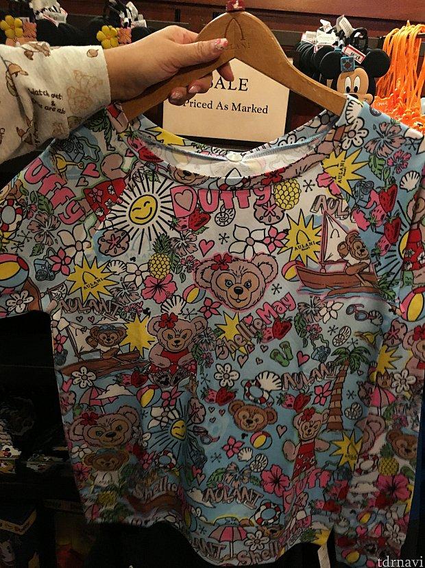 シェリーメイの長袖Tシャツ(大人用)40ドル