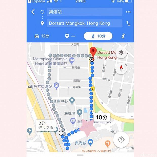 この⭐️のところくらいに西九龍ビルの出口があると思います
