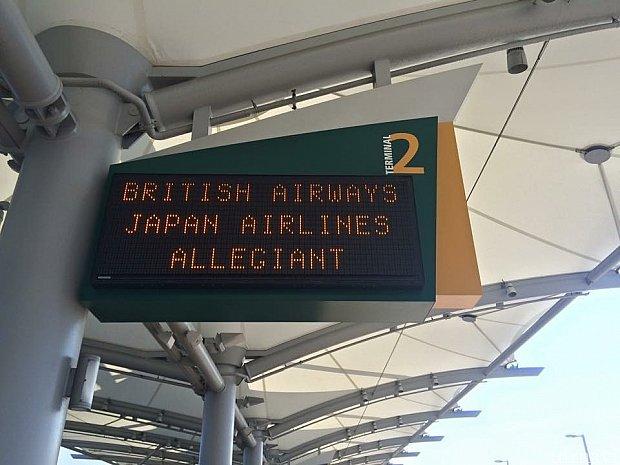 サンディエゴ空港です