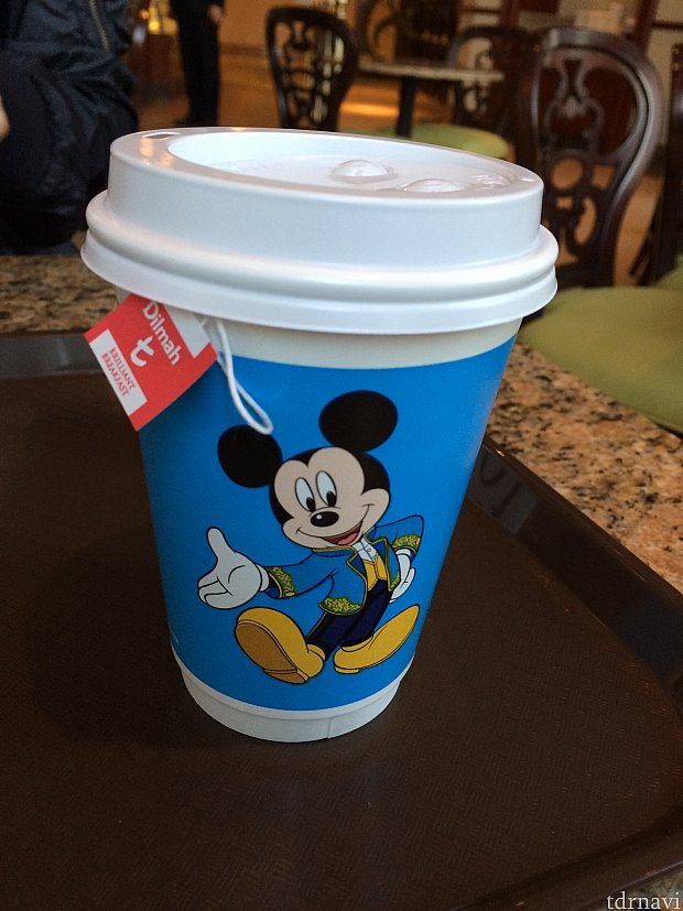 飲み物はこのカップで