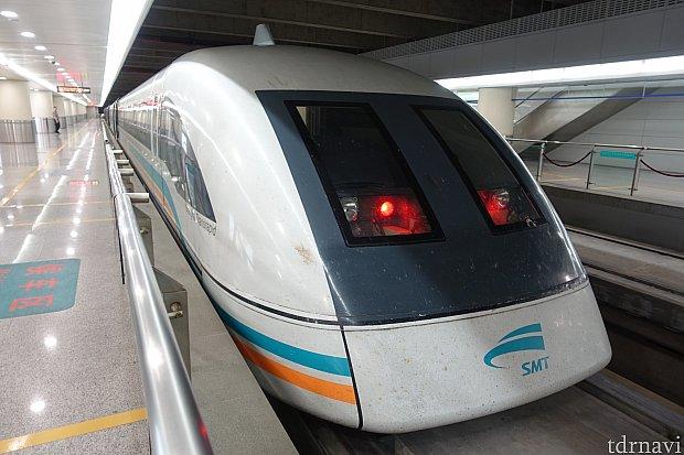 これが上海リニアだ!