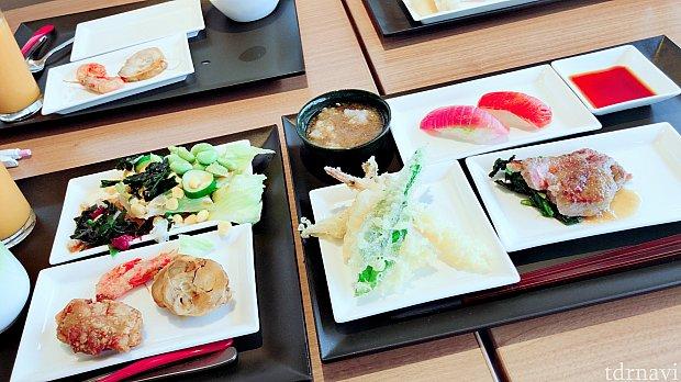 揚げたての天ぷらが絶品でした😆