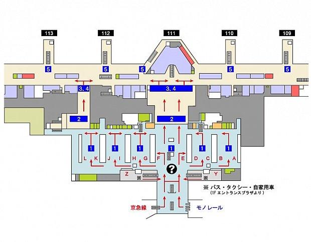 羽田空港国際線3Fの見取り図です。 羽田の他に、成田・関空・中部にも登録出来る場所があります。 また入国管理局でも登録を行ってます。 羽田の場合、香港エクスプレスのチェックインカウンターがあるA付近(ANA手荷物カウンタ-)付近に自動化ゲートの受付があります