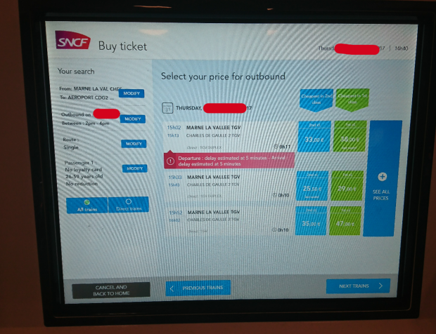 TGV:フランスの新幹線