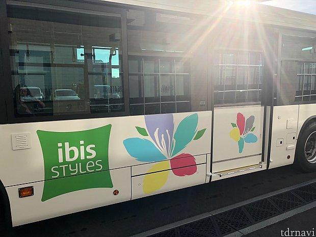 花柄の専用バスが可愛いいです(^。^)