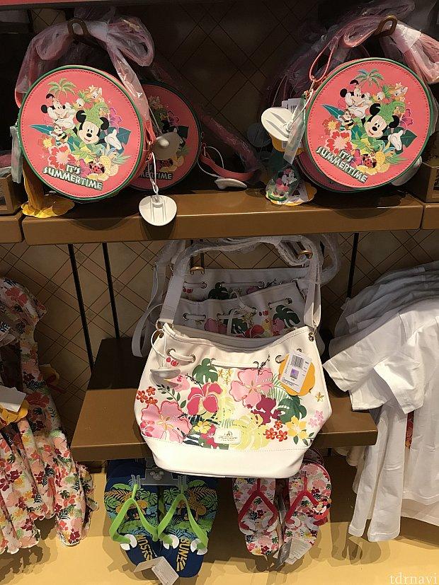 おしゃれバッグ♡下のバッグにはミニーの刺繍が