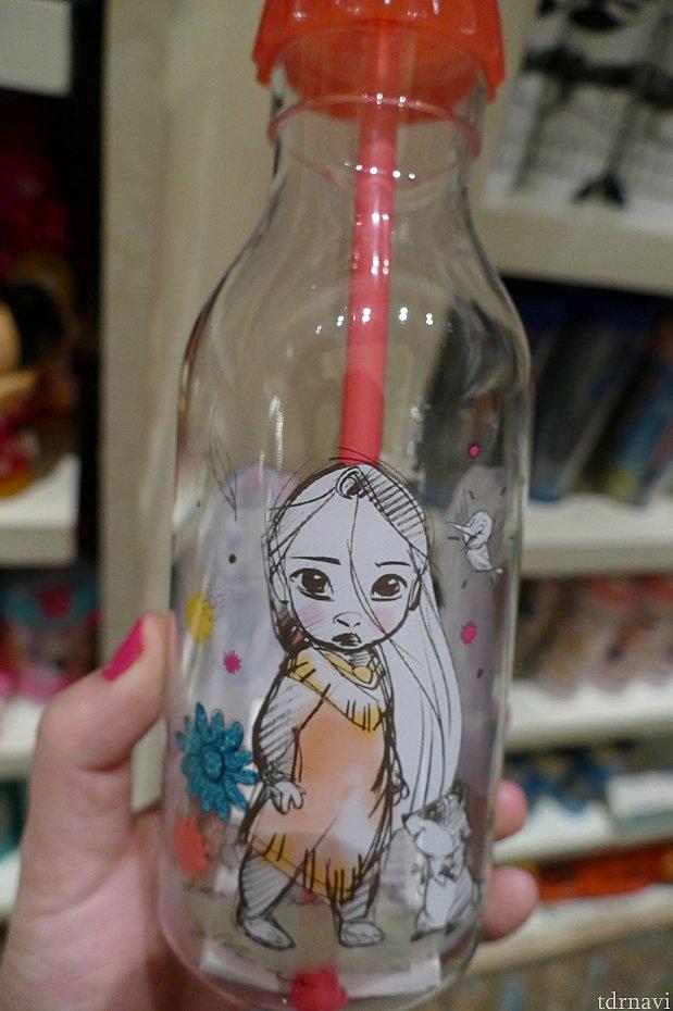 大人でも使えるアニメーターコレクションのストローカップ!このポカホンタスが可愛すぎてもう!!!!💓