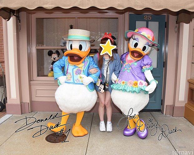 ドナルド&デイジー☆2人揃ってる時間が少ないので注意が必要です!
