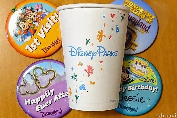 ディズニーの物は全部可愛くて、スタバの紙コップさえも持って帰って来てしまいます😆