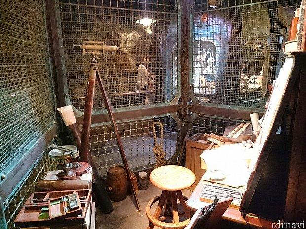 ネモ船長の書斎